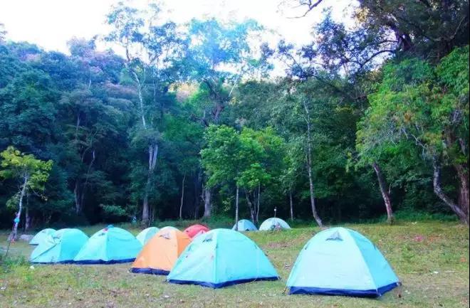 学习搭建帐篷