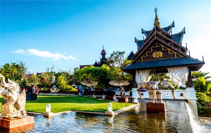 勐巴拉  植入文化里的建筑:畅享版纳特色风情人文,涵养生活